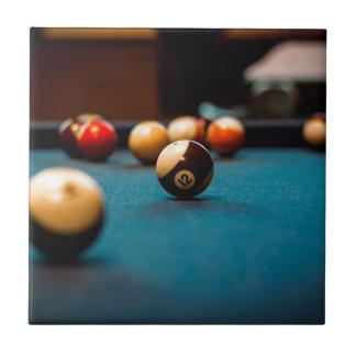 Pool Ball Table Tile