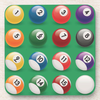 pool balls coaster