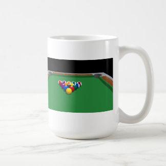Pool Balls on Table: 3D Model: Coffee Mug