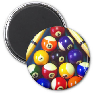 Pool Balls - Rack Em Up! Magnet