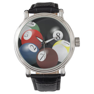 Pool Balls watch
