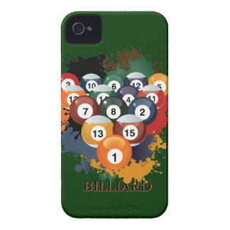 Pool Billiard Balls iPhone 4 Covers