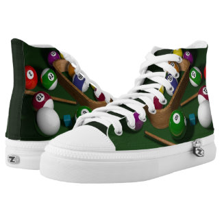 Pool Billiards game balls High Tops