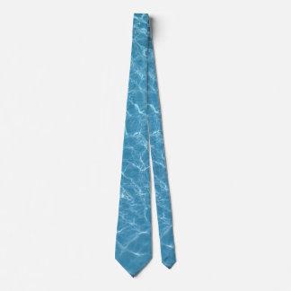 Pool Blue Tie