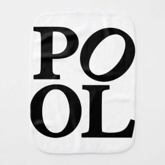 pool burp cloth