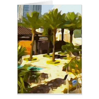 Pool Deck Card
