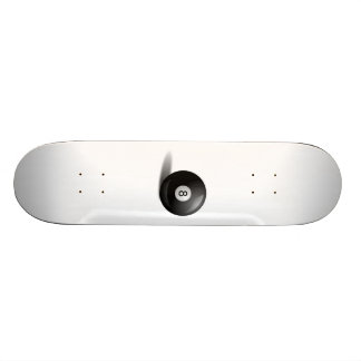 Pool Eight Ball Skate Board