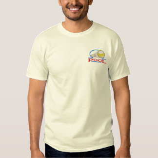 Pool Embroidered T-Shirt