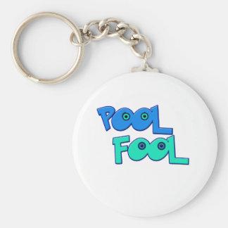 Pool Fool Keychain