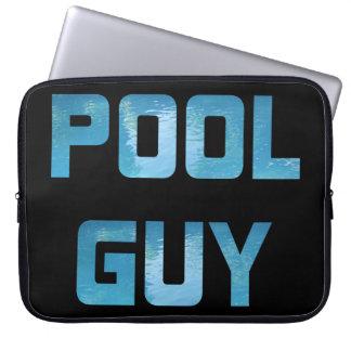 Pool Guy Laptop Sleeve