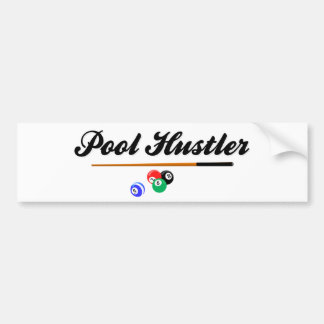 Pool Hustler Bumper Sticker