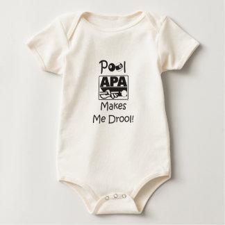 Pool Makes Me Drool Baby Bodysuit