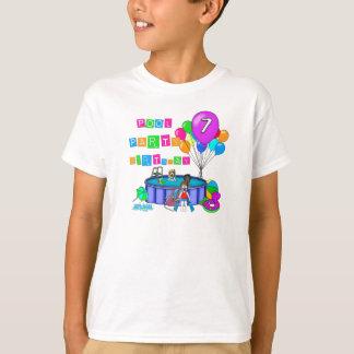 Pool Party 7th Birthday T-Shirt