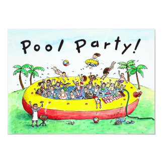 POOL PARTY! CARD