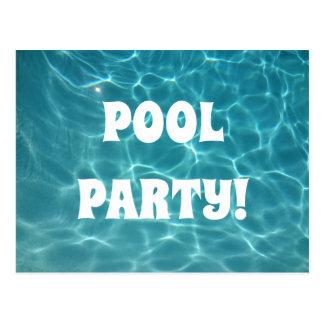 Pool Party Postcard