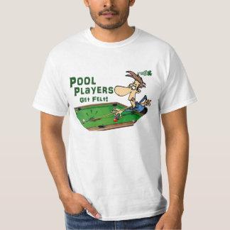 Pool Players Get Felt T-Shirt