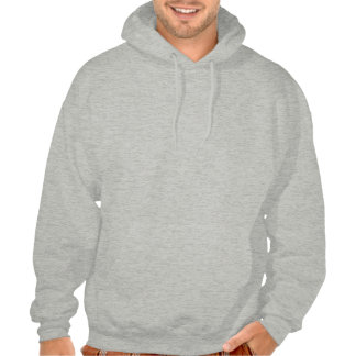 Pool Rack with Spade Hooded Pullover