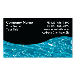 Pool Service Cards Business Card