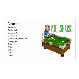 Pool Shark 2 Business Card