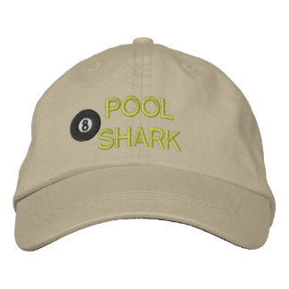 Pool Shark Embroidered Hat