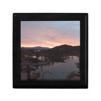 Pool Side Sunrise Gift Box
