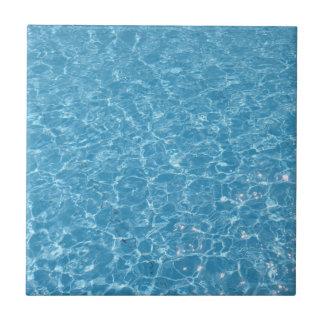 "Pool Small (4.25"" x 4.25"") Ceramic Photo Tile"
