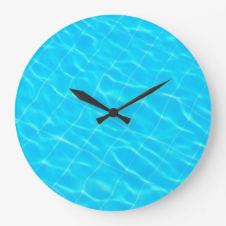 pool swim swimmingpool sport water texture blue wallclocks