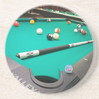 Pool Table Beverage Coaster