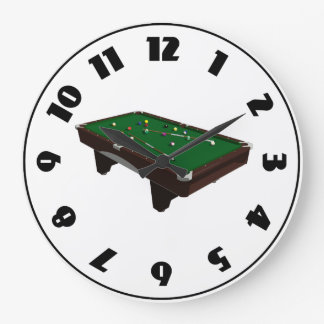 Pool Table Clock
