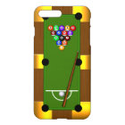Pool Table Eight 8 Ball Masculine Billiards Glossy iPhone 8 Plus/7 Plus Case