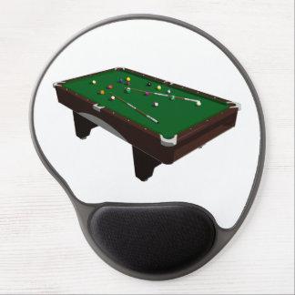 Pool Table Gel Mouse Pad