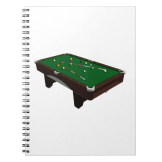 Pool Table Notebook