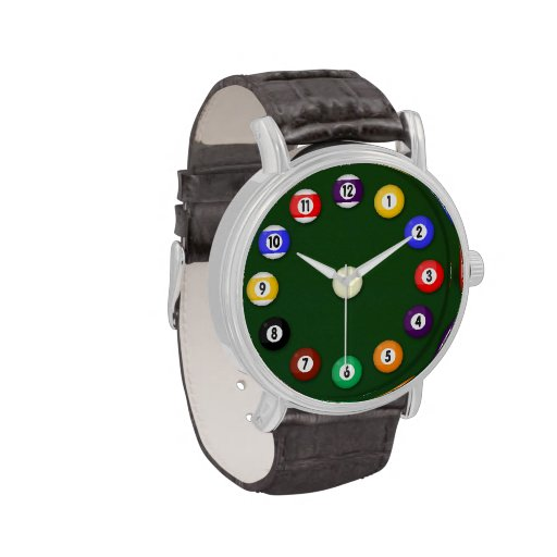 Pool Table - Wrist Watches
