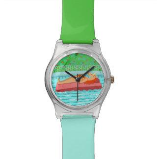 Pool Time Unicorn Wrist Watches