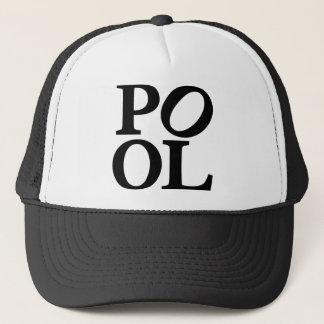 pool trucker hat