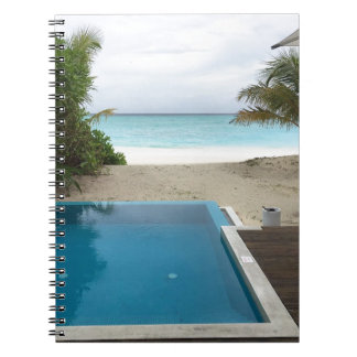 Pool Villa Collection Spiral Notebook