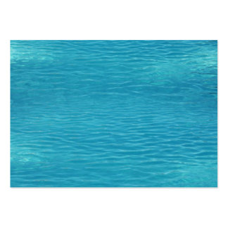 Pool Water Background Large Business Card