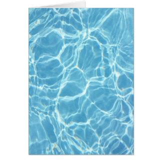 Pool Water Card