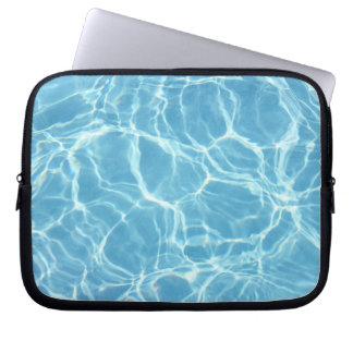 Pool Water Laptop Bag