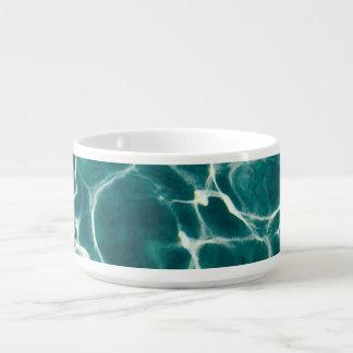 Pool water pattern bowl
