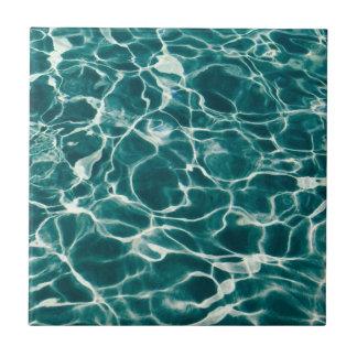 Pool water pattern tile