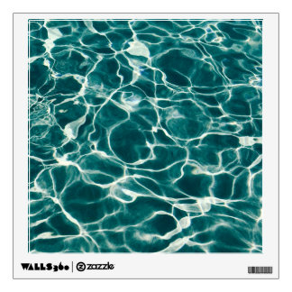 Pool water pattern wall decal