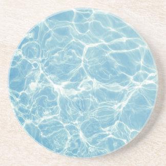 Pool Water, Pool, Swim, Summer Drink Coaster
