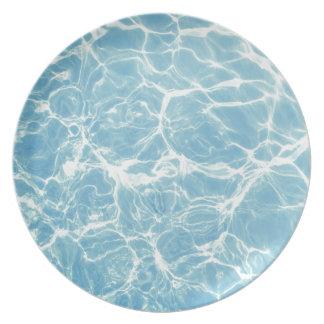 Pool Water, Pool, Swim, Summer Plate