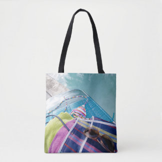 Poolside Accoutrements Tote Bag
