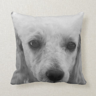 Pooodle dog throw pillow