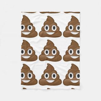 poop emoji blanket