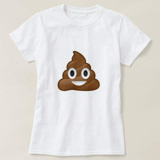 Poop Emoji Ice Cream Tee Shirt