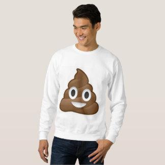 poop emoji mens sweatshirt