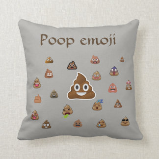 Poop Emoji Throw Pillow : Meaning Decorative Pillows Zazzle.ca